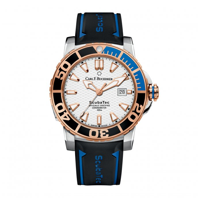 Carl F Bucherer Patravi Scubatec 00.10632.24.23.01 Watch-face-view