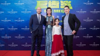 "Li Bingbing and her Patravi ScubaTec stars in ""The Meg"""
