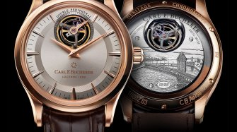 Heritage Tourbillon Double Peripheral Trends and style
