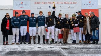 "35th edition of the ""Snow Polo World Cup St. Moritz""  Sport"