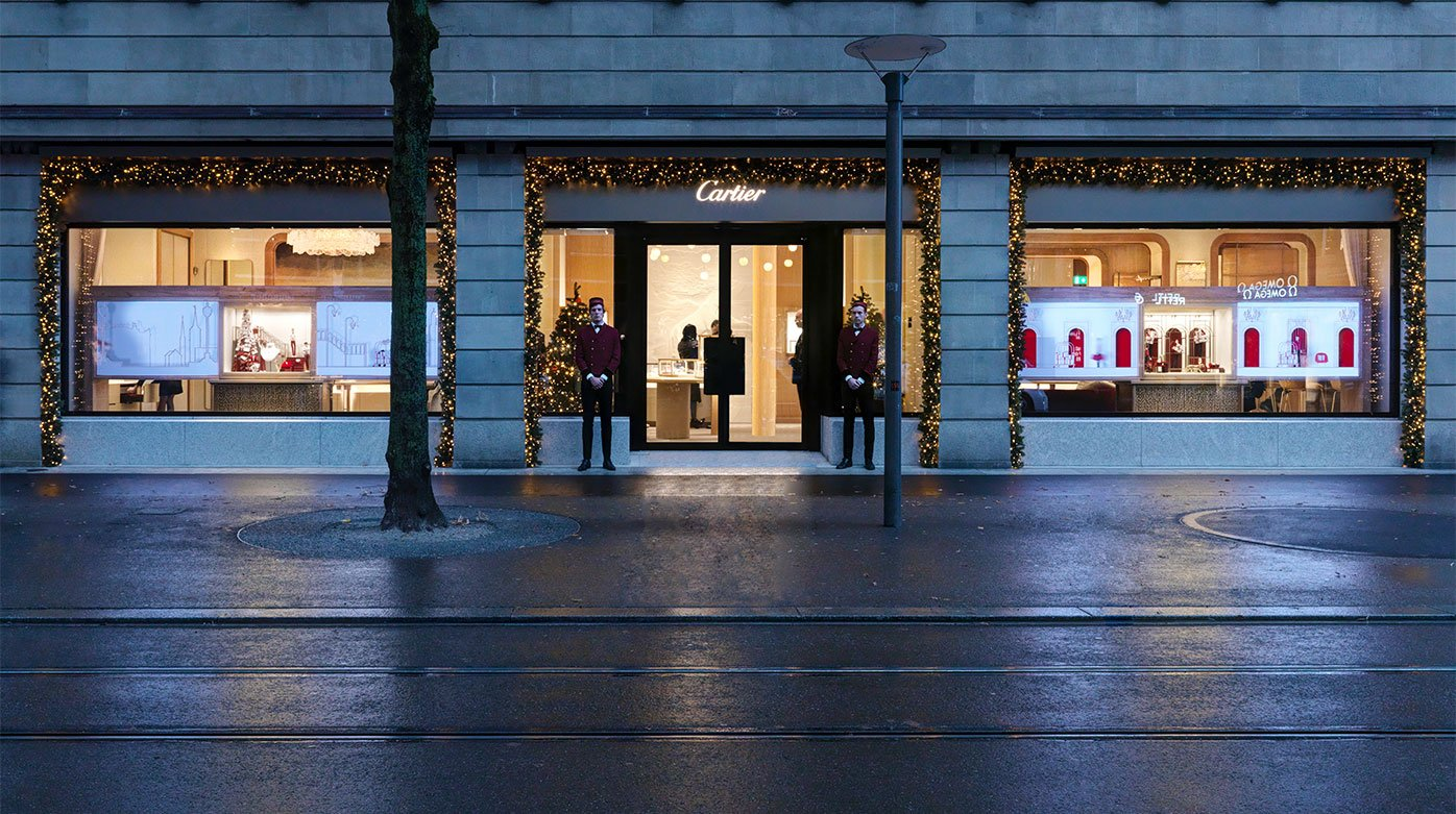 Cartier - A new boutique opens its doors in Zurich