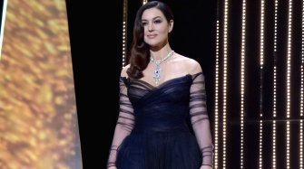 Monica Belluci en Cartier à Cannes