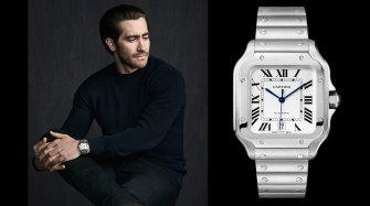Jake Gyllenhaal is the new face of the Santos de Cartier watch