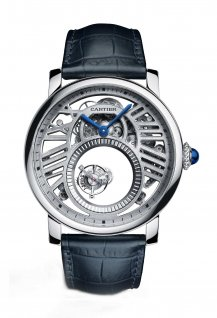 Rotonde de Cartier Mysterious Double Tourbillon Skeleton