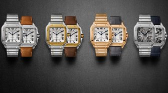 Updated for modern demands : The Cartier Santos Trends and style