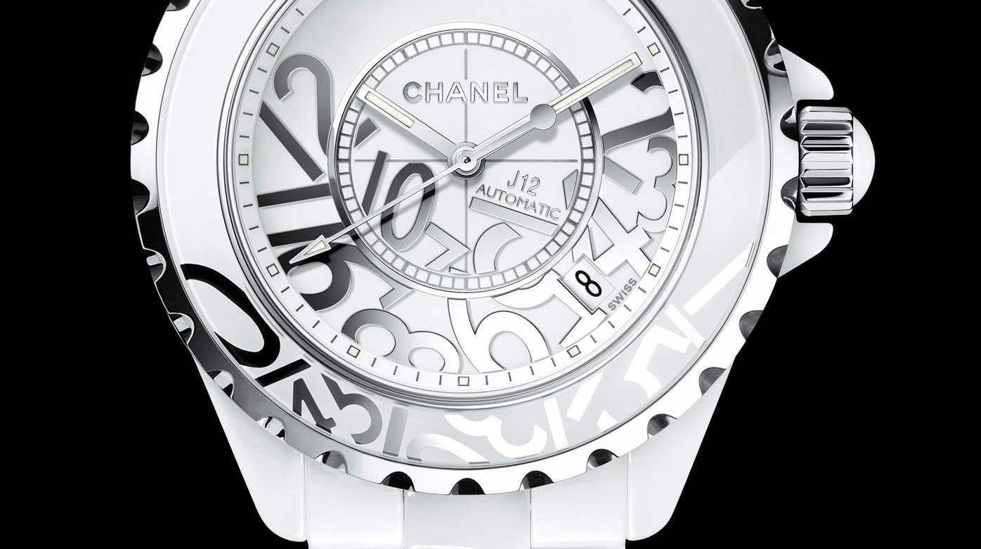 Chanel - J12 Graffiti