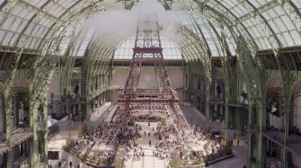 Great sponsorship project at the Paris Grand Palais Arts and culture