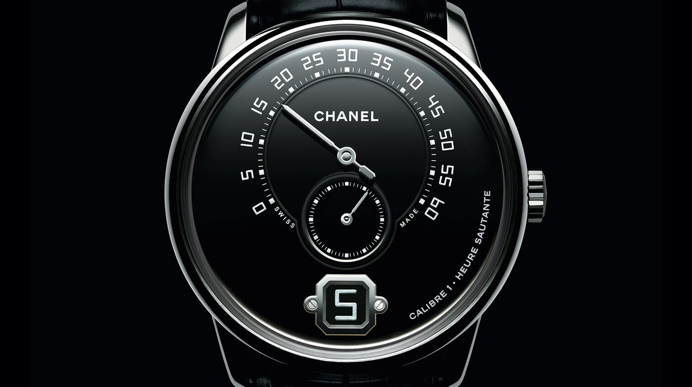 Chanel - Monsieur de Chanel in platinum