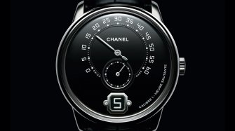 Monsieur de Chanel in platinum