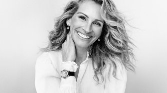 A New Happy Sport makes its Debut on the Wrist of Julia Roberts