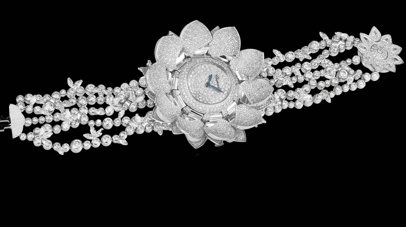 Chopard - Lotus Blanc watch