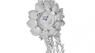 The Jewellery Watch Prize given to the Lotus Blanc Watch