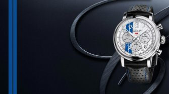 Blue stripes and the Chopard Mille Miglia Classic Chronograph Racing Stripes Trends and style