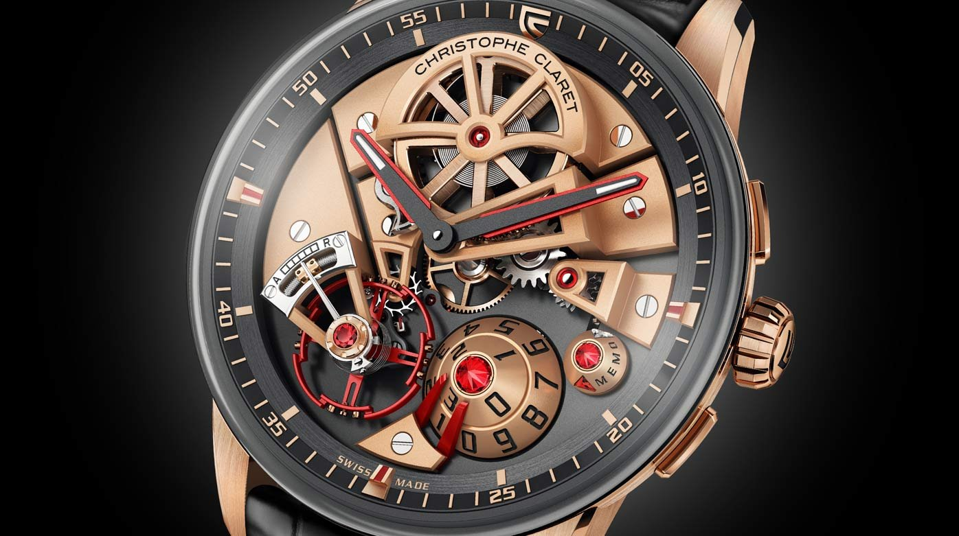 Christophe Claret - Video. Maestro