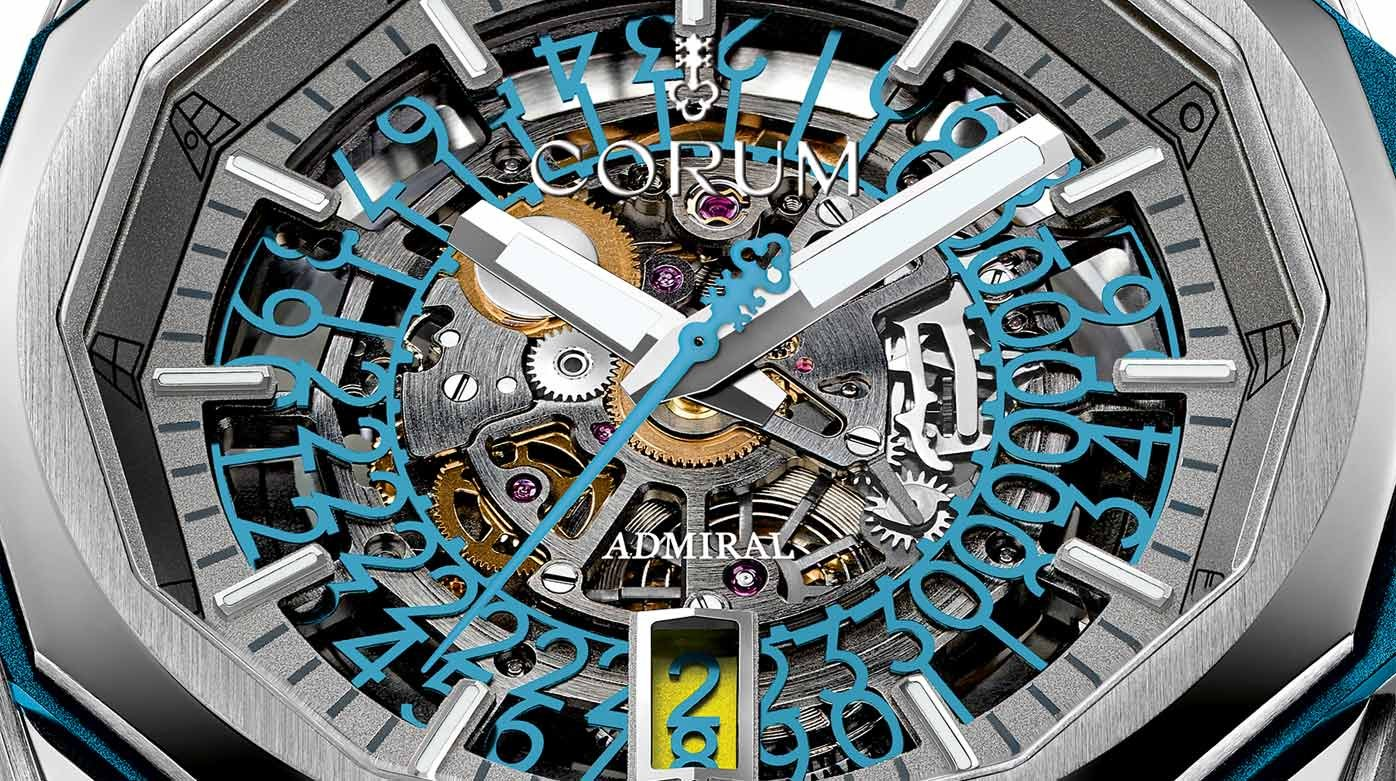 Corum - Admiral AC-One 45 Squelette