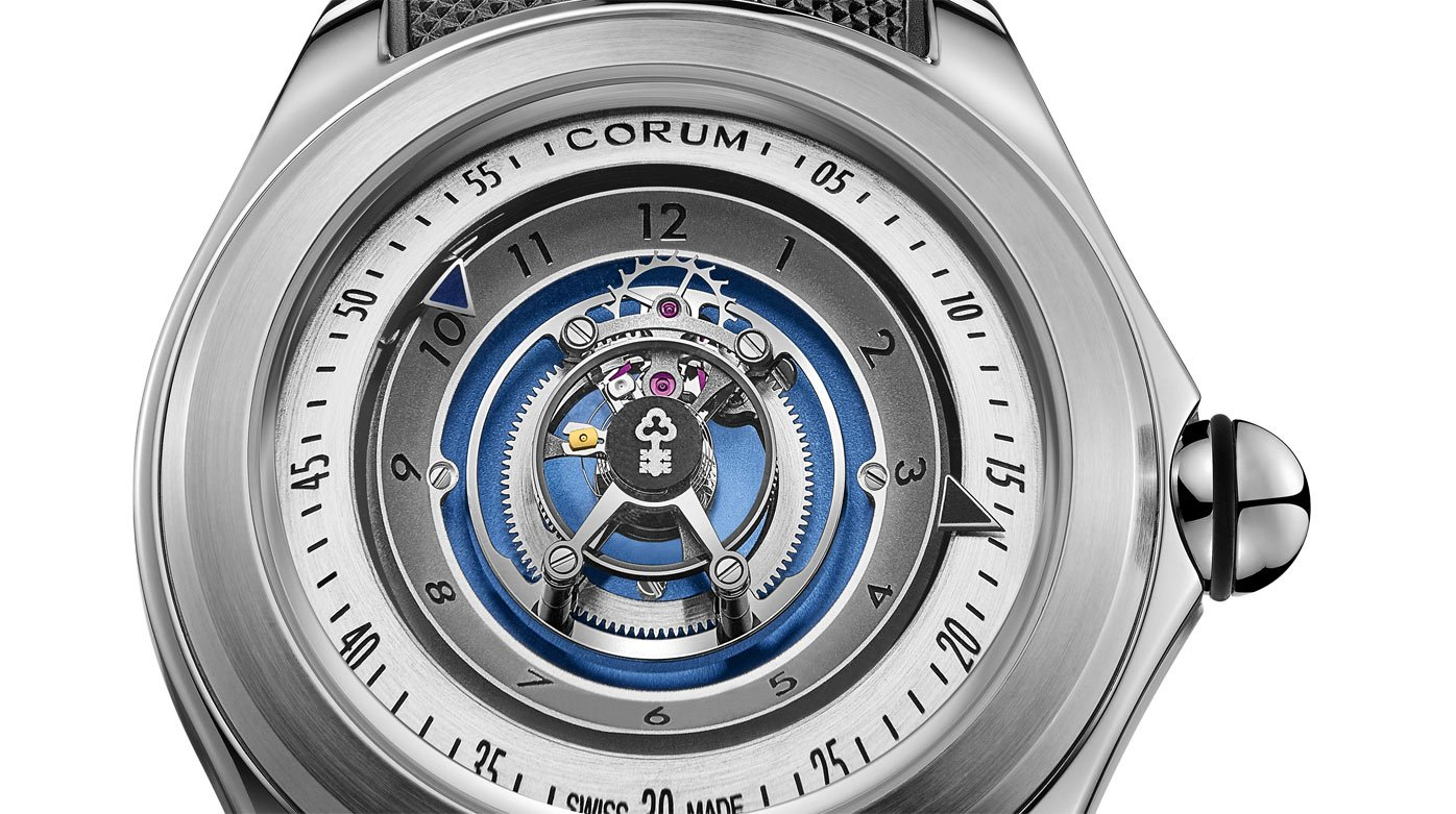 Corum - Bubble Central Tourbillon