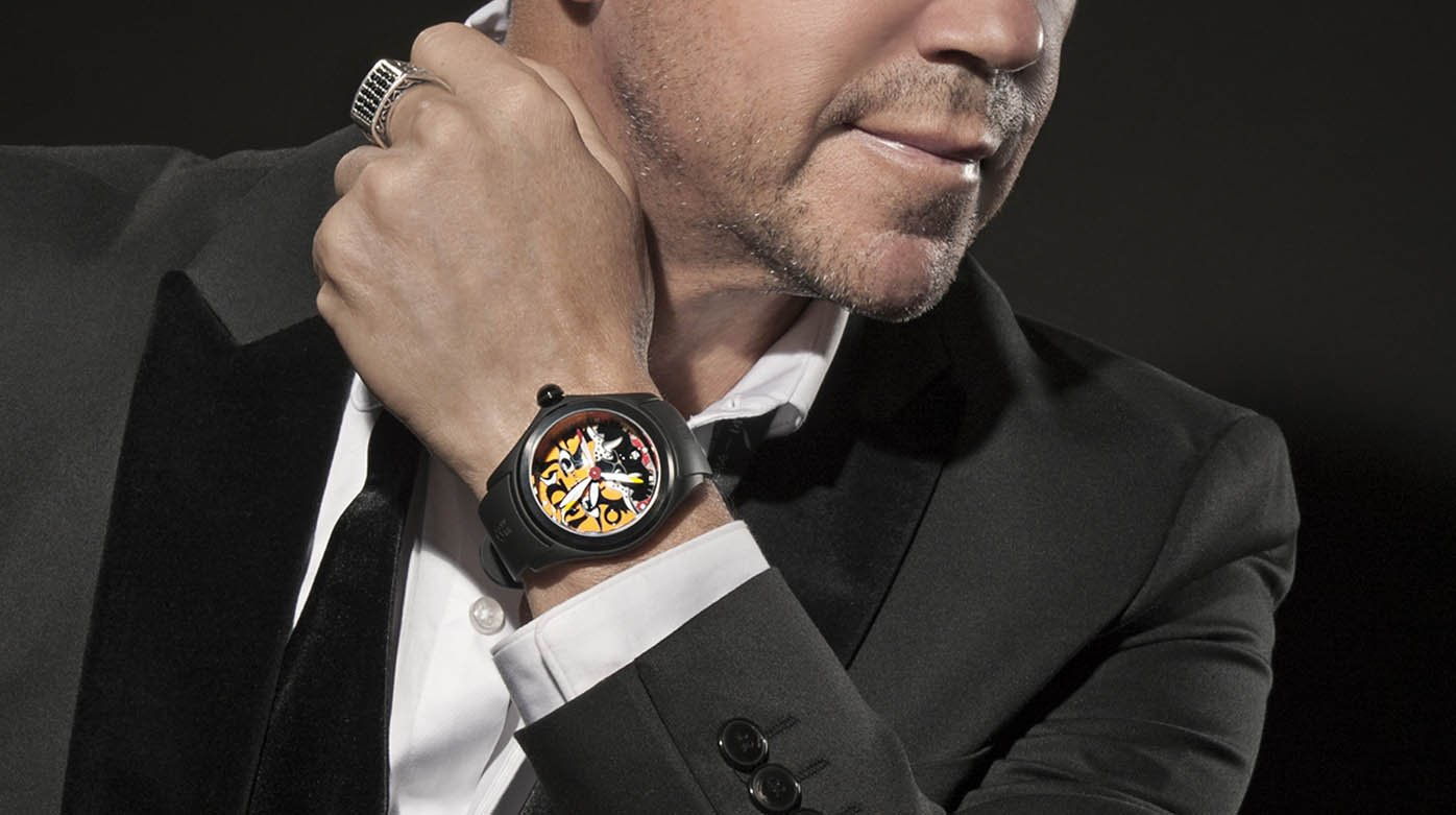 Corum - New partnership with Nelson De La Nuez