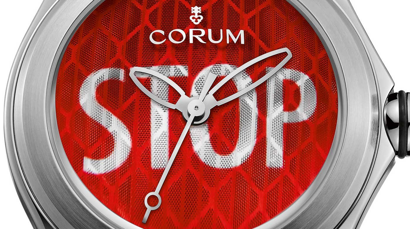 Corum - Corum Bubble says STOP!