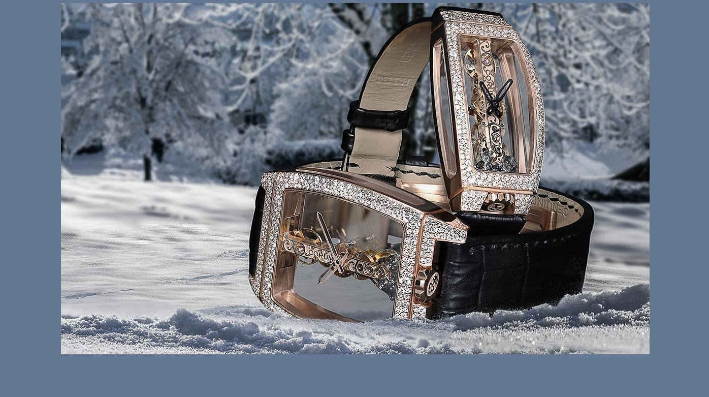 Corum - Golden Bridge et Miss Golden Bridge