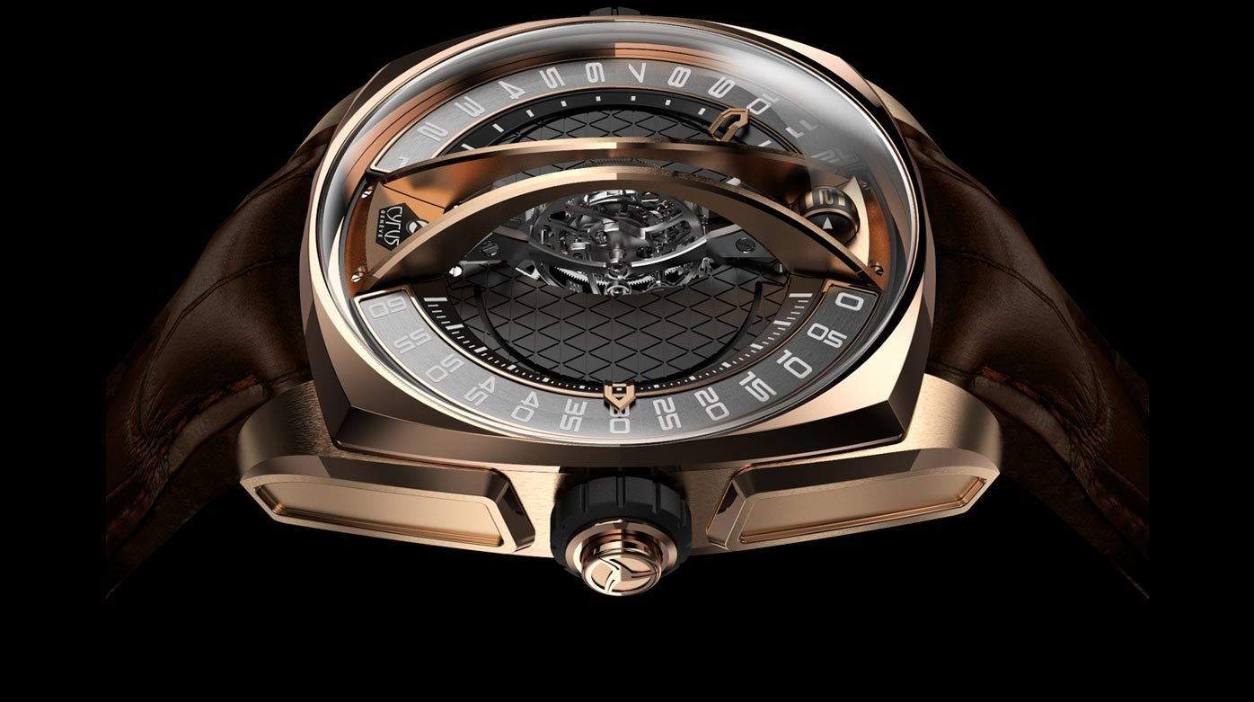 Cyrus - Klepcys Vertical Tourbillon