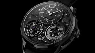 Czapek goes dark Trends and style