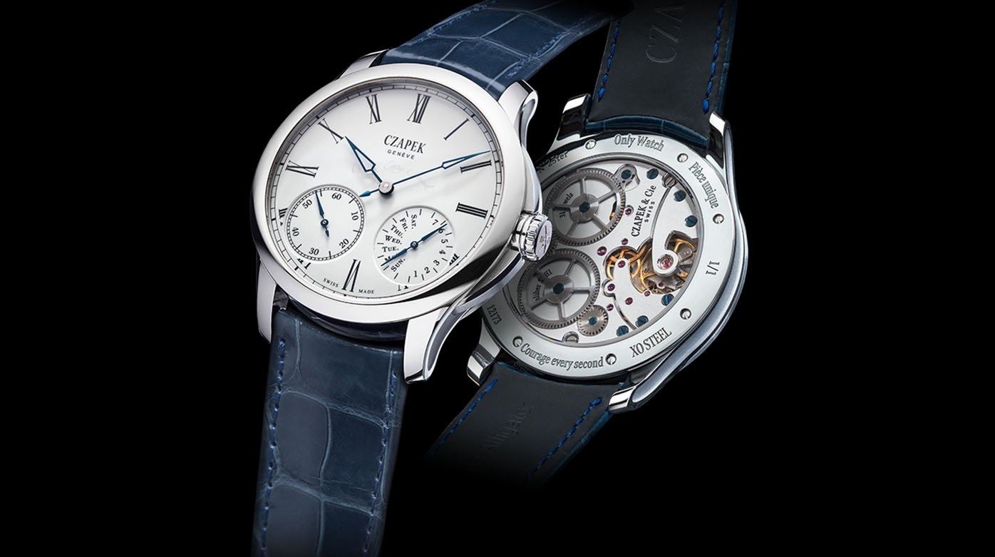 Czapek & Cie - 'Courage every second' for Only Watch