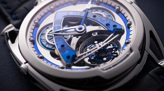 DB28 Steel Wheels Sapphire Tourbillon Trends and style