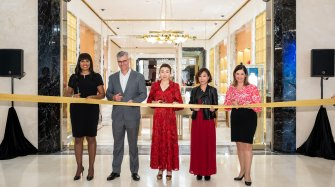 Boutique reopening in Macau