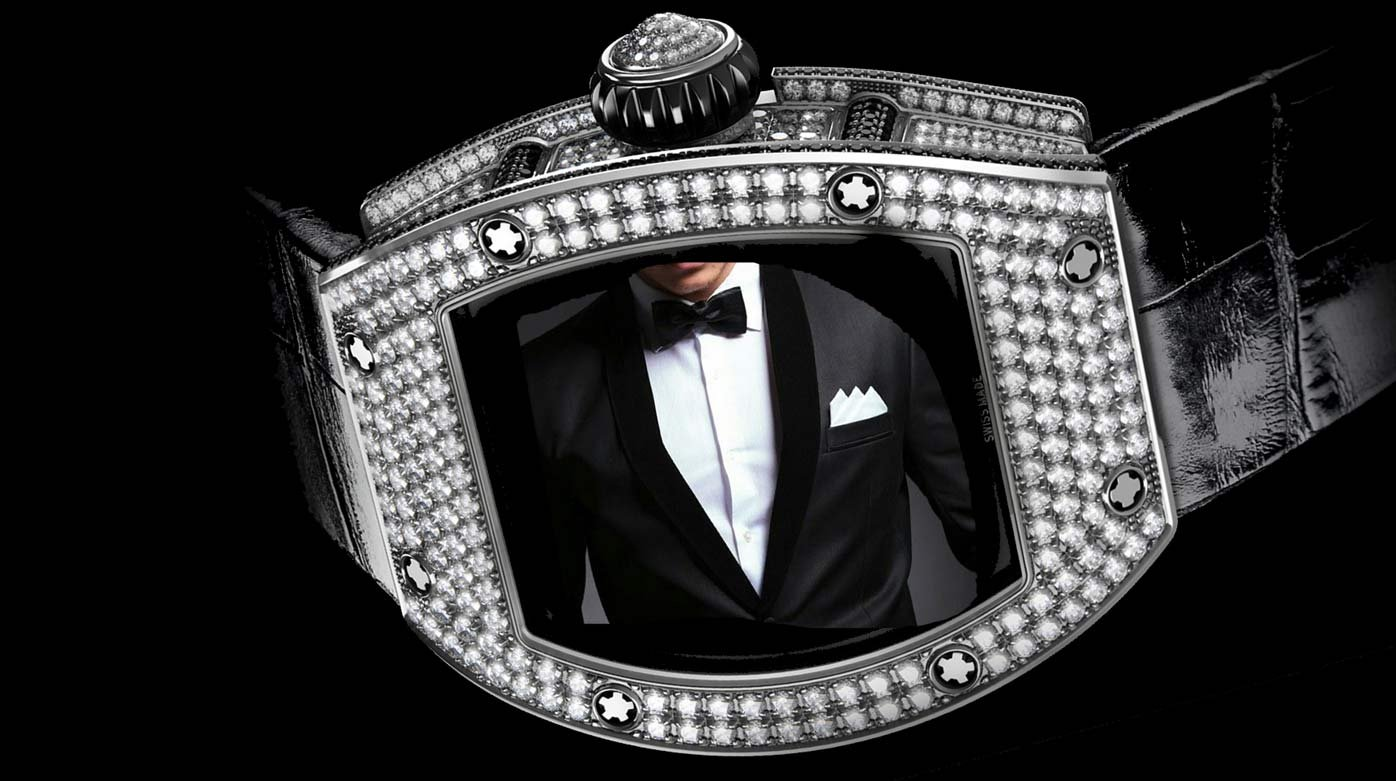 Diamond-set watches - Gentlemen: it's your time to shine!