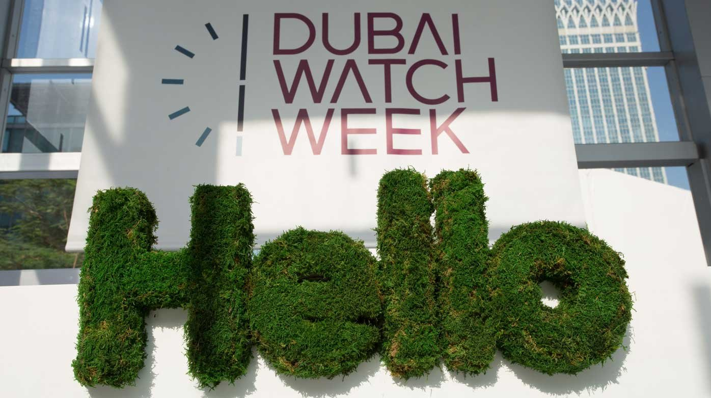 Dubai Watch Week - Talking, touching and teaching watches