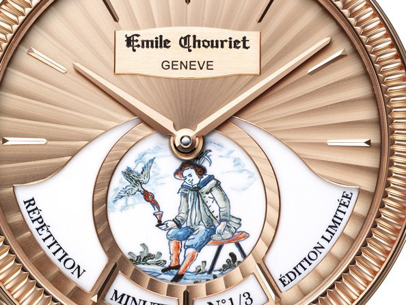 Emile Chouriet - Video. Wisdom Minute Repeater