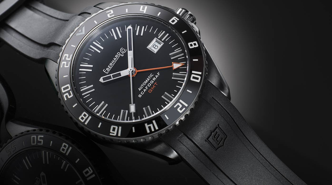 Eberhard & Co. - Scafograf GMT « The Black Sheep »