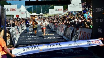 Amid the Alpine summits with the Sierre-Zinal race