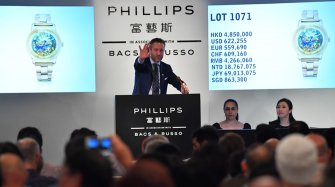 Phillips Hong Kong Watch Auction: FOUR results