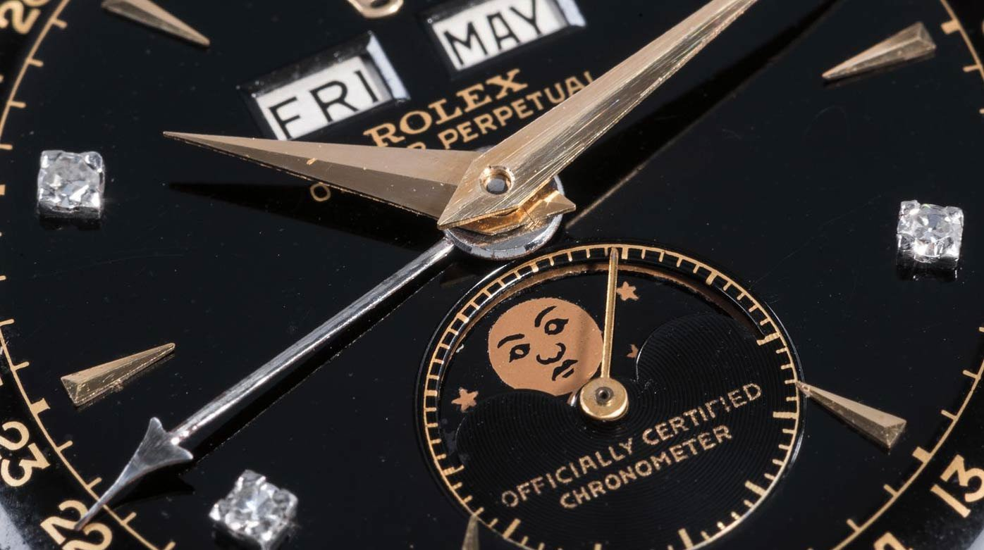 Auction in Geneva - World record for a Rolex wristwatch