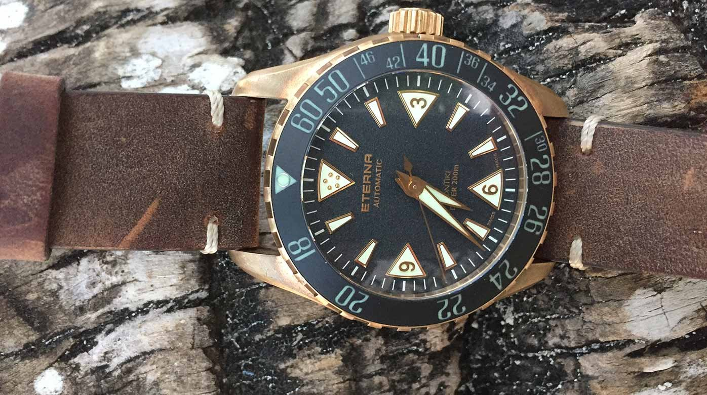 Eterna - Testée en conditions réelles : l'Eterna Kontiki Bronze (048/300)