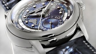 Classics Manufacture Worldtimer Navy Blue