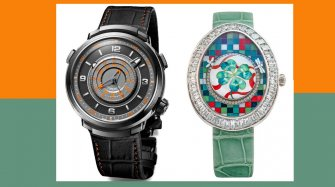 Visionnaire Chronograph Dynamique and Fabergé Clover Trends and style