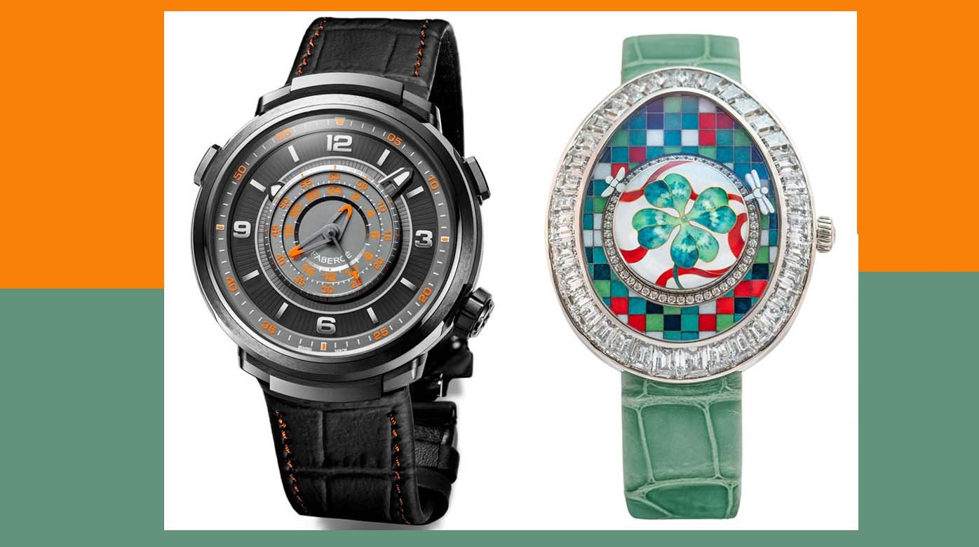 Fabergé - Two watches shortlisted in the GPHG