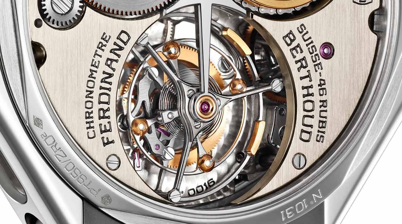 Ferdinand Berthoud - The four differences of the Ferdinand Berthoud tourbillon