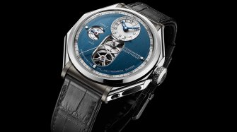 "FB 1.3-1 ""Sapphire Blue"" Chronometre Trends and style"