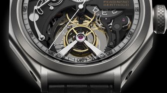 The new régulateur squelette FB RS : one movement, two cases Trends and style