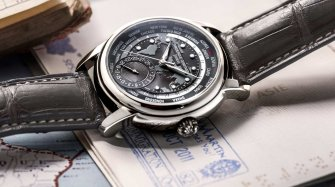 Classic Worldtimer Manufacture, grey Trends and style