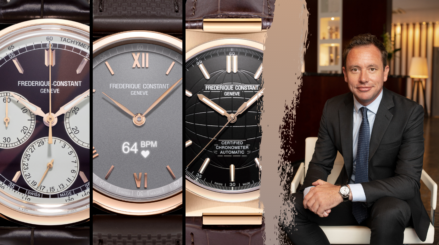 Frederique Constant - Ten Minutes With Niels Eggerding: Discover The Man Behind Frederique Constant