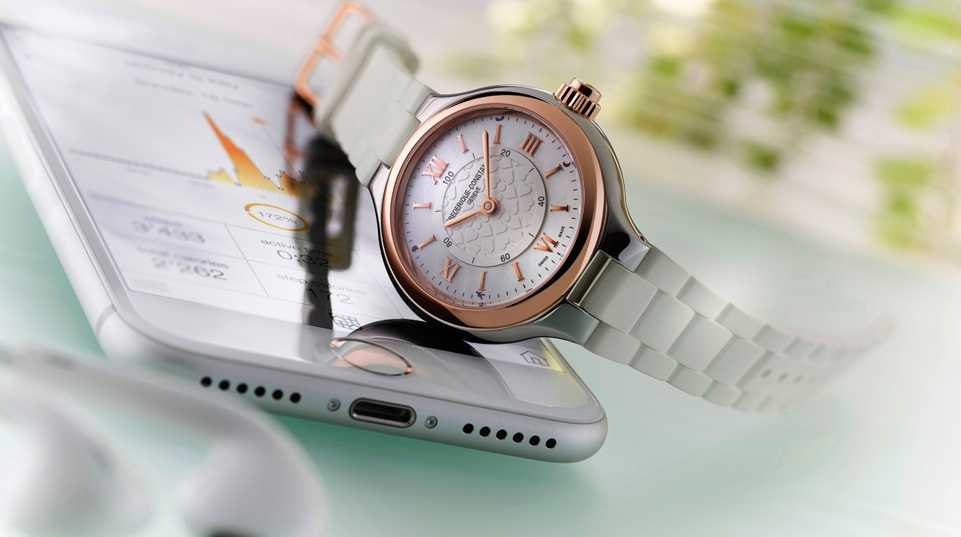 Frederique Constant - Horological Smartwatch Notify Lady