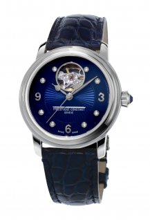 Ladies Automatic Heart Beat Blue