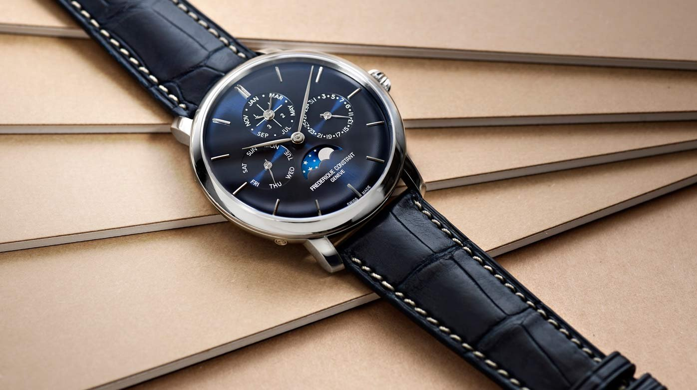 Frederique Constant - Limited-edition Manufacture Perpetual Calendar for Bucherer