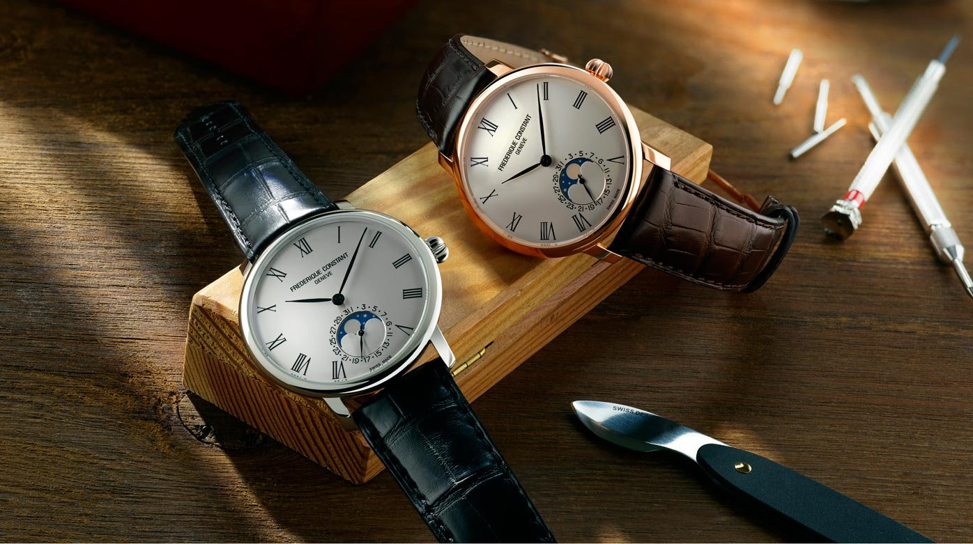 Frédérique Constant - New Slimline Moonphase Manufacture