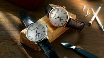 New Slimline Moonphase Manufacture Trends and style