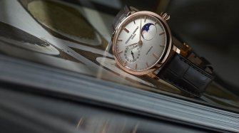 Slimline Moonphase Manufacture Trends and style